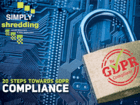 GDPR 20 steps to compliance